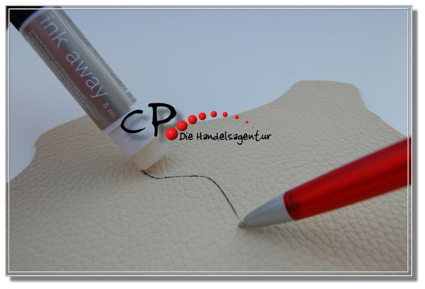 leather master ink away kugelschreiberentferner f r. Black Bedroom Furniture Sets. Home Design Ideas